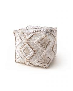 Pouf Osby Cream_Taupe